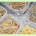 ある日の低糖質メニュー作り置き Low-Carb recipes
